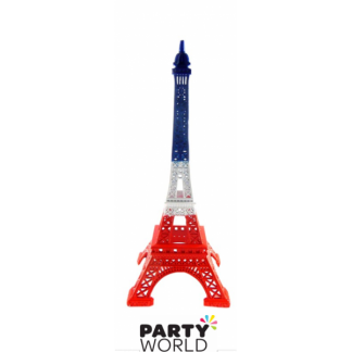 Mini Tricolor Eiffel Tower 18 cm