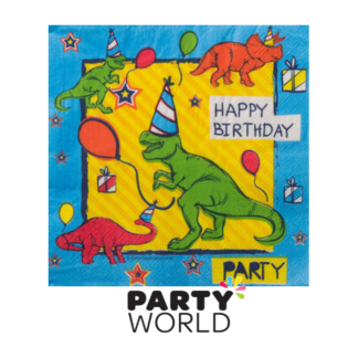 Dinosaur Fun Luncheon Napkin (16)