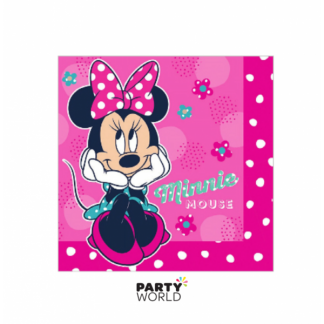 Minnie Mouse Luncheon Napkins (20)