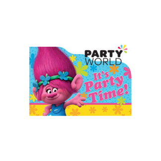 Trolls Party Invitations (8)