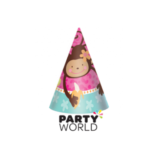 Monkey Love Party Hats (8)