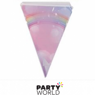 Rainbow Dream Plastic Flag Banner 3.6m