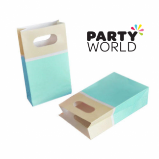 Blue Sorbet Paper Party Bags (6)