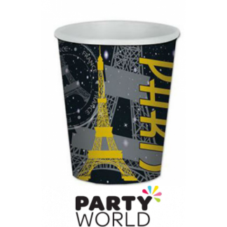 Paris At Night Paper Cups (8)