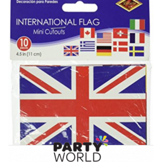 International Flag Mini Cutouts (10)