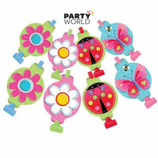 Butterfly Flower Garden Girl Blowouts (8)