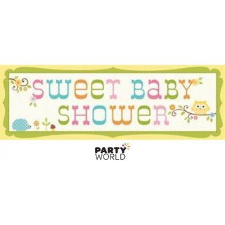 Happi Tree Sweet Baby Shower Giant Banner