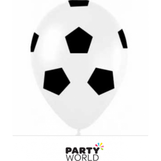 Latex Soccer Ball Balloons (12)