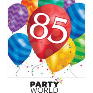 85th Birthday Balloon Blast Luncheon Napkins (16)