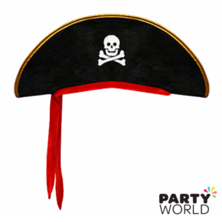 Pirate Captain Hat with Bandana