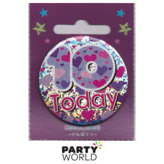 10 Today Girl Badge