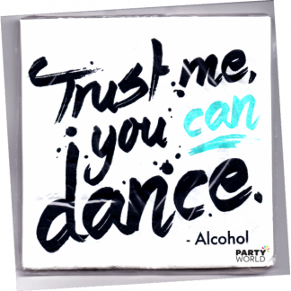 Trust Me You Can Dance Luncheon Napkins (20)