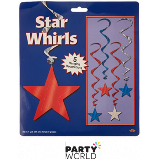 Patriotic Star Whirls (5)