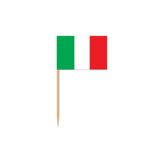 Italian Flag Picks (20pk)