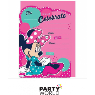 Minnie Mouse Birthday Invitations (16)