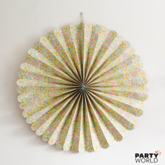 Giant Meri Meri Liberty Floral Pinwheel Decoration 32in