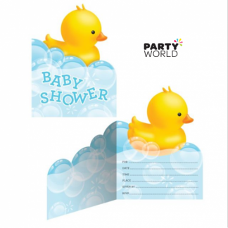 Bubble Bath Baby Shower Invitations (8)