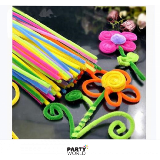 Coloured Pipe Cleaners for DIY (36)
