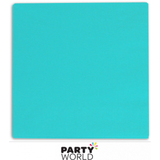 Teal / Blue Luncheon Napkins (20)