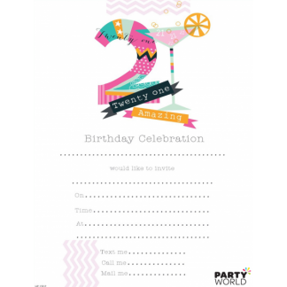 21st Birthday Invitations (20)