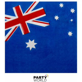 Australian Flag Luncheon Napkins (16)