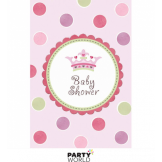 Little Princess Baby Shower Invitations (8)