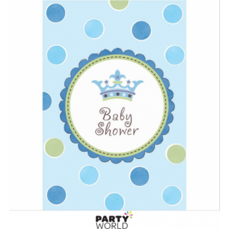 Little Prince Baby Shower Invitations (8)