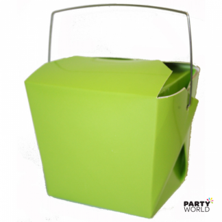 Lime Green Noodle Boxes (4)