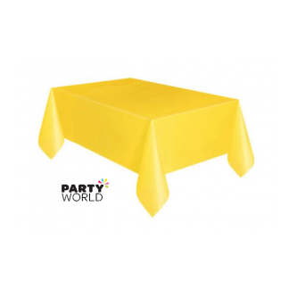 Yellow Rectangular Tablecover
