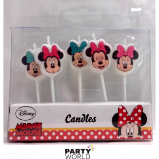 Minnie Mouse Candles (5)