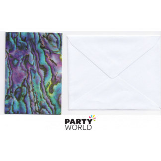 Paua Paper Card with Envelope
