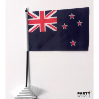 New Zealand Stick Flag with Stand