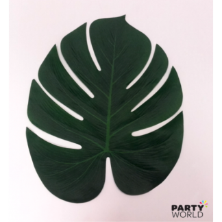 Artificial Palm Leaves (2) approx 29 x 35 cm