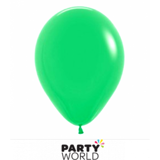 30 cm Decorator Jade Green Balloons (25)
