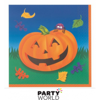 Pumpkin Steps Luncheon Napkins (16)