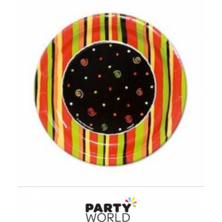 Fiesta Stripes Paper Plates 7in (8)