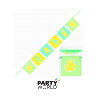 Polka Dot Baby Shower Banner