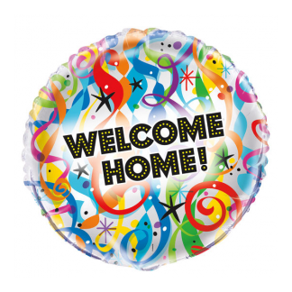 'Welcome Home' Foil Balloon