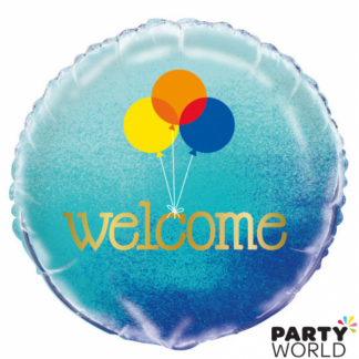 'Welcome' Foil Balloon