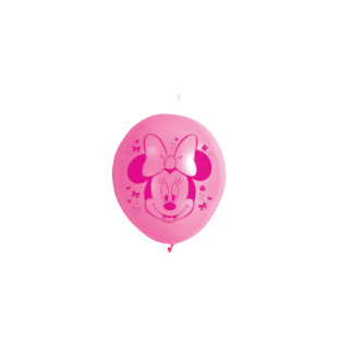 Minnie Mouse Latex Balloons (10)