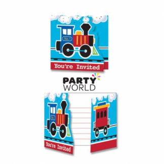 All Aboard Invitations (8)