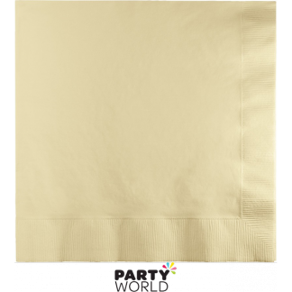 Ivory Luncheon Napkins (50)