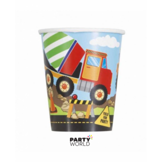 Construction Party Paper Cups (8)