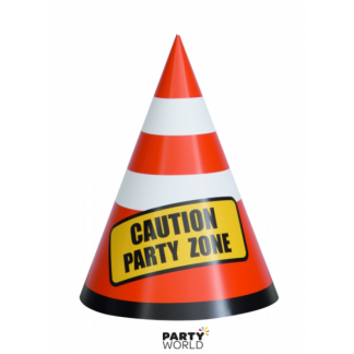 Construction Party Paper Cones (8)