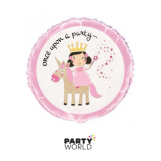 Unicorn & Princess Foil Balloon 18in