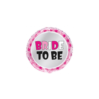 Bride To Be Foil Round Balloon