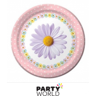 Fresh Daisies Paper Plates 7in (8)