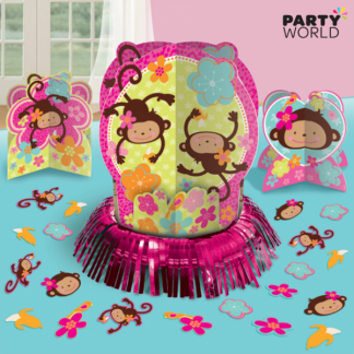 Monkey Love Table Decorating Kit (3 pieces & confetti)