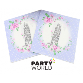 Leaning Tower of Pisa Luncheon Napkins (20)