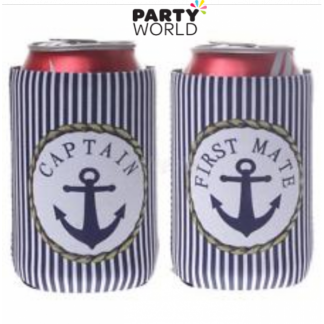 Nautical Beer Can Holder - Stripes (2)